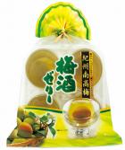 4個巾着 紀州南高梅 梅酒ゼリー KUN-4